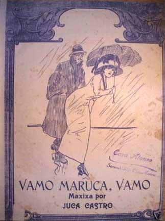 Vamo Maruca, Vamo score cover