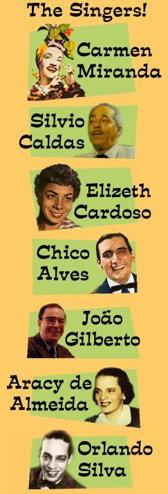 Interpretes de Ary Barroso